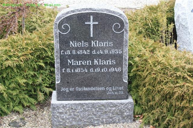 Niels Pedersen Klaris