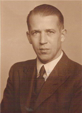 Henry Thrane som ung