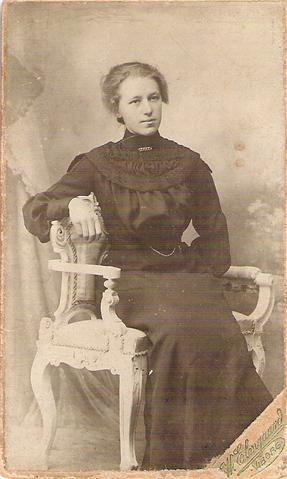 Marie Kristiansen 1920